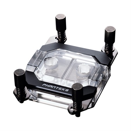 Phanteks C350A CPU Water Block, Acrylic Cover , RGB LED. Black