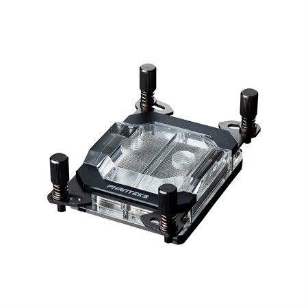 Phanteks C399A Water Block, Acrylic Cover, RGB LED. Black
